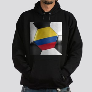Colombia Soccer Ball Hoodie (dark)