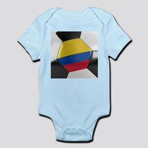 Colombia Soccer Ball Infant Bodysuit