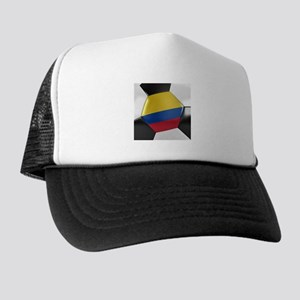 Colombia Soccer Ball Trucker Hat