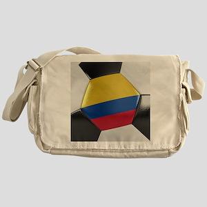 Colombia Soccer Ball Messenger Bag