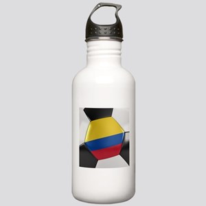 Colombia Soccer Ball Stainless Water Bottle 1.0L