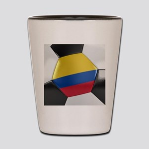 Colombia Soccer Ball Shot Glass