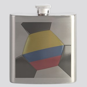 Colombia Soccer Ball Flask