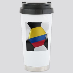 Colombia Soccer Ball Stainless Steel Travel Mug