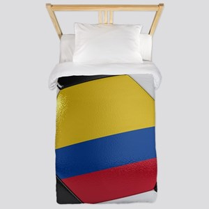 Colombia Soccer Ball Twin Duvet
