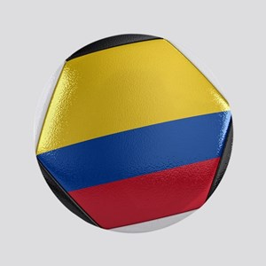 "Colombia Soccer Ball 3.5"" Button"