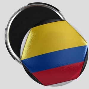 Colombia Soccer Ball Magnet