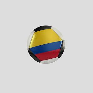 Colombia Soccer Ball Mini Button