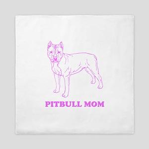Pitbull Mom Queen Duvet