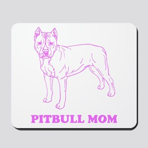 Pitbull Mom Mousepad