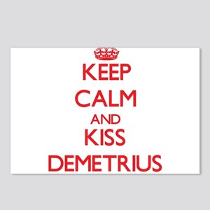 Keep Calm and Kiss Demetrius Postcards (Package of