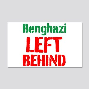 Benghazi Left Behind Wall Decal