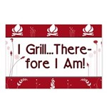 I Grill Therefore I AM Postcards (Package of 8)