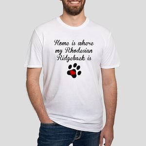 Home Is Where My Rhodesian Ridgeback Is T-Shirt