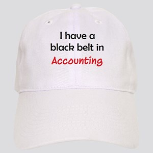 accounting black belt Cap