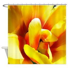 Tulip Unfolding Shower Curtain