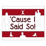 Cause I Said So Small Poster