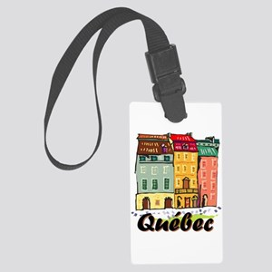 Quebec City Large Luggage Tag
