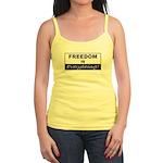 Freedom is Everything Jr. Spaghetti Tank