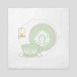 Tea Time Queen Duvet