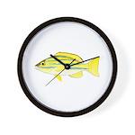 Bluestripe Snapper Wall Clock