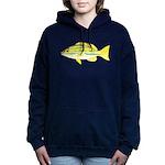 Bluestripe Snapper c Women's Hooded Sweatshirt