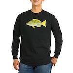 Bluestripe Snapper c Long Sleeve T-Shirt
