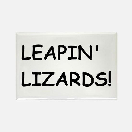 lizards Rectangle Magnet