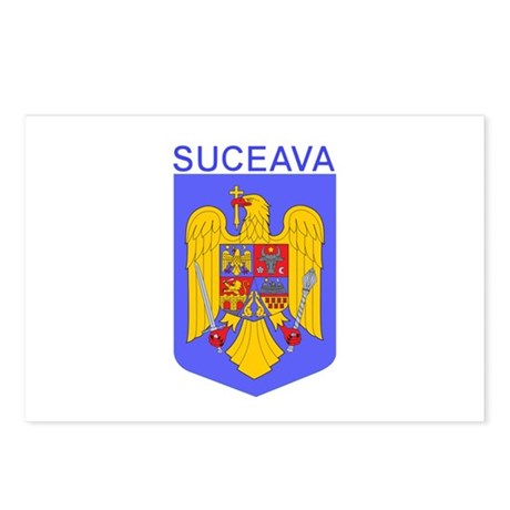 Suceava, Romania Postcards (Package of 8)
