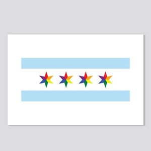 Chicago Municipal Pride Flag Postcards (Package of