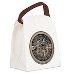 watermeterlidlsepia Canvas Lunch Bag