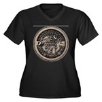 watermeterlidlsepia Plus Size T-Shirt