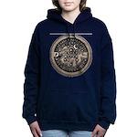 watermeterlidlsepia Women's Hooded Sweatshirt