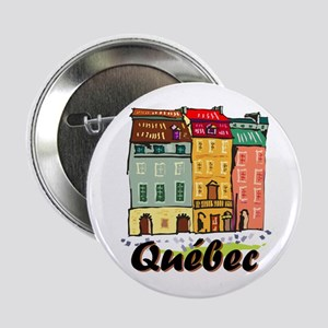 "Quebec city 2.25"" Button"