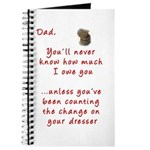 Dad you'll Never Know Journal
