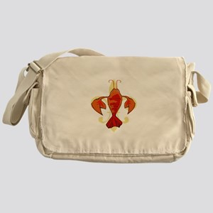 Fleur De Craw Messenger Bag