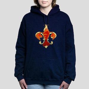 Fleur De Craw Women's Hooded Sweatshirt