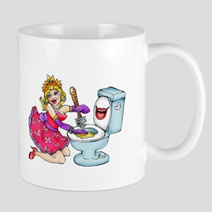 Cleaning Lady - Toilet Mugs