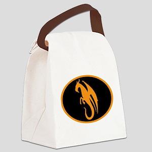 DragonMan Canvas Lunch Bag
