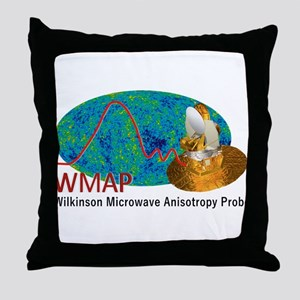 WMAP Throw Pillow