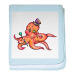 Octopus baby blanket