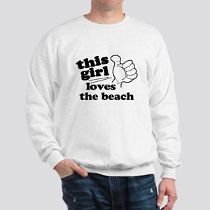 Personalize This Girl Sweatshirt