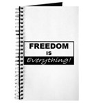 Freedom is Everything Journal