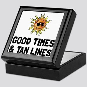 Good Times Tan Lines Keepsake Box