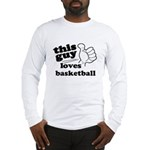 Personalize This Guy Long Sleeve T-Shirt