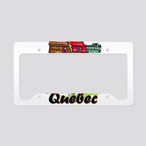 Quebec city License Plate Holder