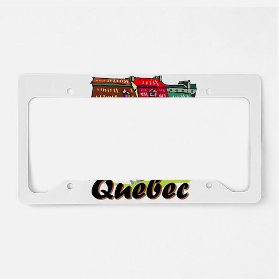 Quebec city License Plate Holder