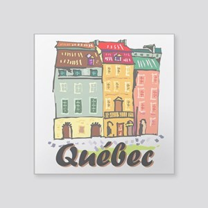 Quebec city Sticker
