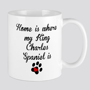 Home Is Where My King Charles Spaniel Is Mugs