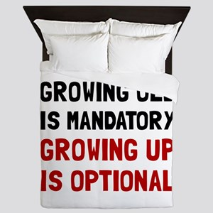 Growing Up Optional Queen Duvet